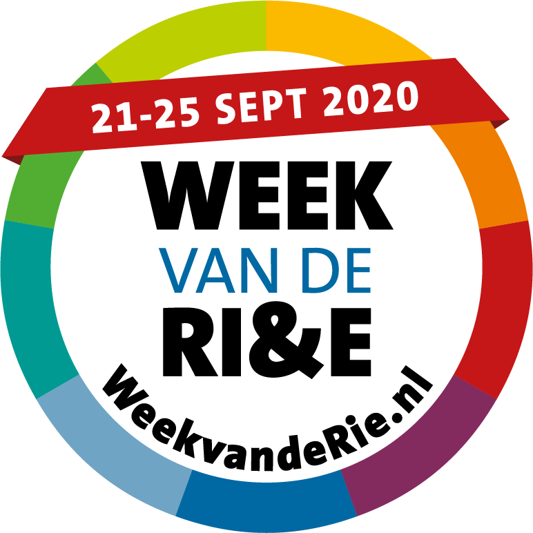 Logo Week van de RI&E van 21 tot 25 september 2020